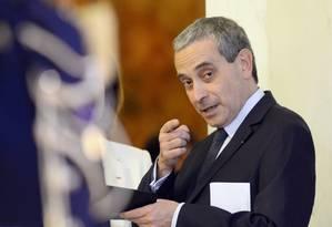 Laurent Stefanini é considerado pelo governo como um de seus melhores diplomatas Foto: ALAIN JOCARD / AFP