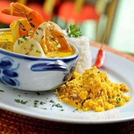 Moqueca faz parte do menu do Obá, em SP Foto: Divulgação/Obá Restaurante