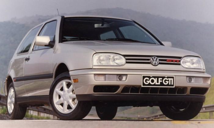 CA Rio de Janeiro (RJ) 14/12/1994 Veículo / Automóvel - Golf GTI. Foto Arquivo Foto: divulgação