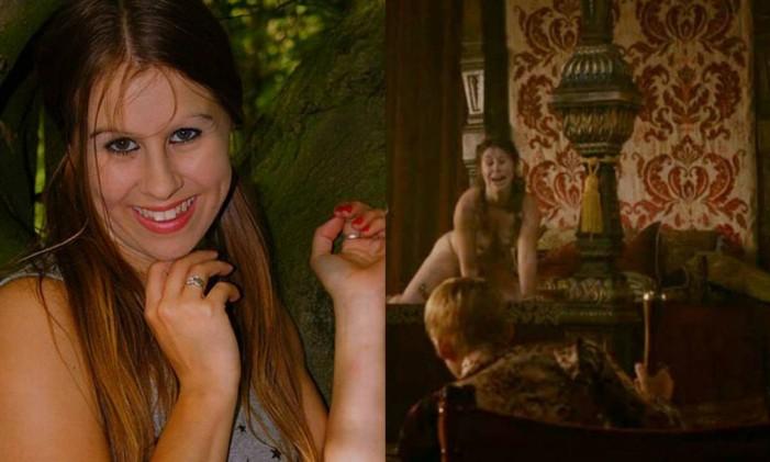 """Maisie Dee fez cenas de sadismo em """"Game of thrones"""" Foto: Reprodução"""