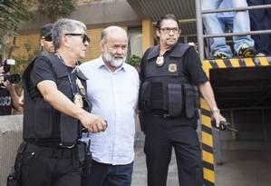 João Vaccari Neto foi preso na 12ª fase da Operação Lava-Jato. Foto: Rafael Fortes / Agência O Globo