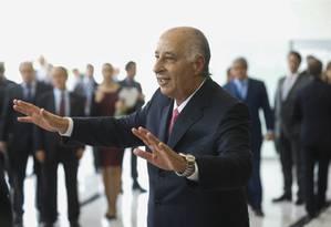 Marco Polo Del Nero tomou posse como novo presidente da CBF Foto: Alexandre Cassiano / Agência O Globo
