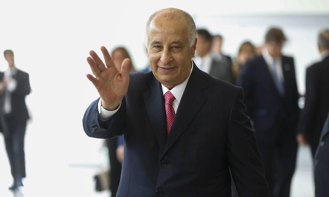 Marco Polo Del Nero tomou posse como presidente da CBF nesta quinta-feira Alexandre Cassiano / Agência O Globo