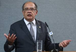 O ministro do STF Gilmar Mender Foto: André Coelho / Agência O Globo