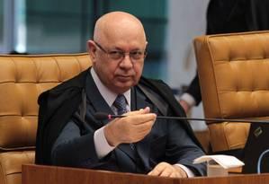 Teori atendeu a pedido de Janot, que critica a condução de interrogatórios pela PF Foto: Givaldo Barbosa/27-3-2014