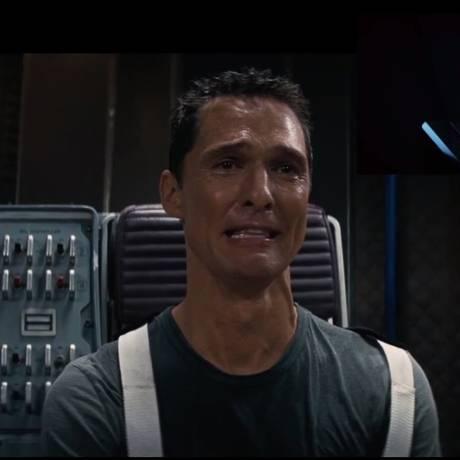 Matthew McConaughey emocionado com trailer de 'Star Wars' Foto: Reprodução
