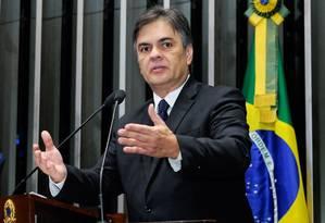 O líder do PSDB no Senado, Cássio Cunha Lima (PB) Foto: Agência Senado 09/04/2015