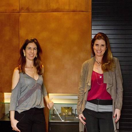 Irmãs e sócias. Aline e Alessandra Schiper comemoram 15 anos de atelier e prêmio internacional Foto: Bia Guedes