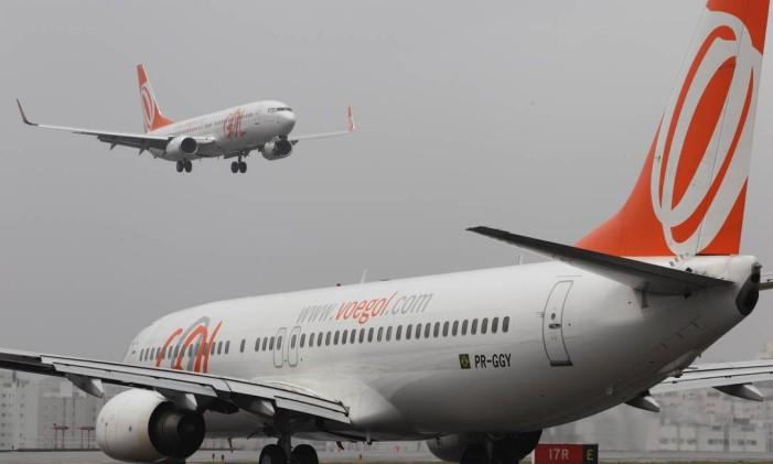 Companhia aérea passa a oferecer wi-fi em seus voos a partir de 2016 Foto: Michel Filho / Agência O Globo