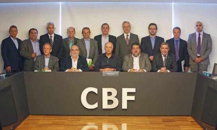 Resultado de imagem para foto da diretoria da cbf