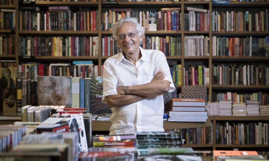 O documentarista paraibano Vladimir Carvalho, homenageado no festival E Tudo Verdade Foto: Leo Martins
