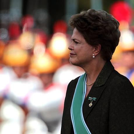 A presidente Dilma Rousseff Foto: Jorge William/ Agência O Globo
