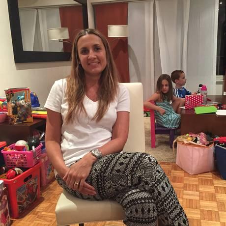 Mercado travado. Luz Benedit tenta vender seu apartamento em Buenos Aires, mas não encontra comprador Foto: Janaína Figueiredo