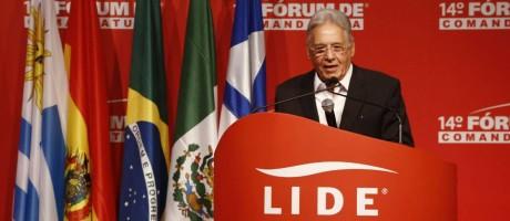 PH fez palestra no 14º Fórum de Comandatuba, na Bahia Foto: Divulgação
