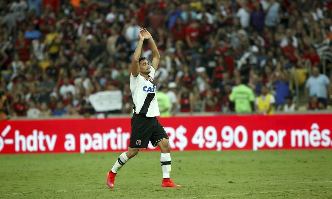 Gilberto comemora o gol do Vasco no segundo tempo Cezar Loureiro / Agência O Globo