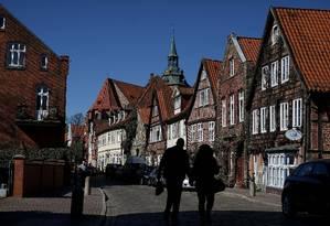 Cidade de Lüneburg terá julgamento de ex-guarda de Auschwitz Foto: Ronny Hartmann / AFP