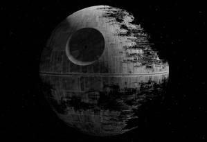 A Estrela da Morte em 'Guerra nas estrelas: Episódio VI - O retorno de Jedi' Foto: Reprodução