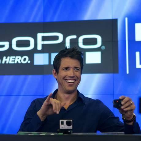 O fundador e CEO da GoPro Nick Woodman Foto: Victor J. Blue / Bloomberg