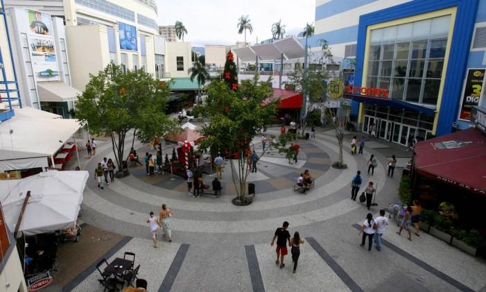 Expansão Norte Shopping Foto: Agência O Globo