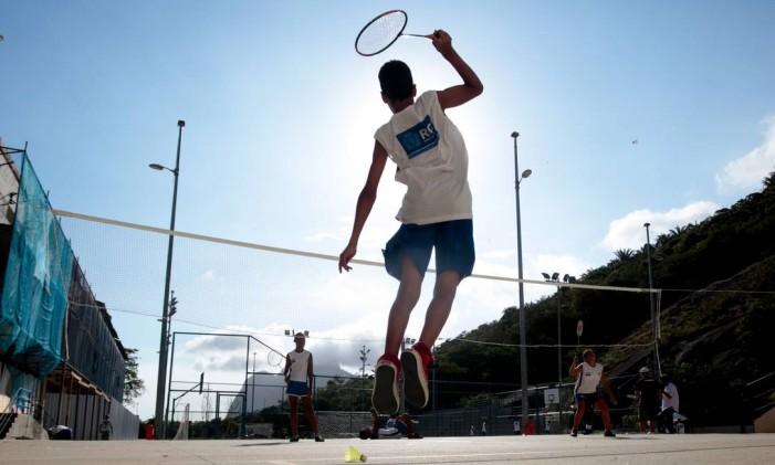 Badminton é um dos esportes em crescimento no Brasil Foto: Pedro Kirilos / Agência O Globo