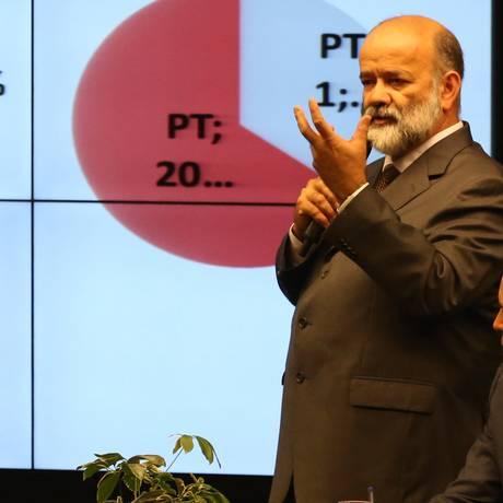 Tesoureiro afastado do PT, João Vaccari Neto Foto: Ailton de Freitas / Agência O Globo