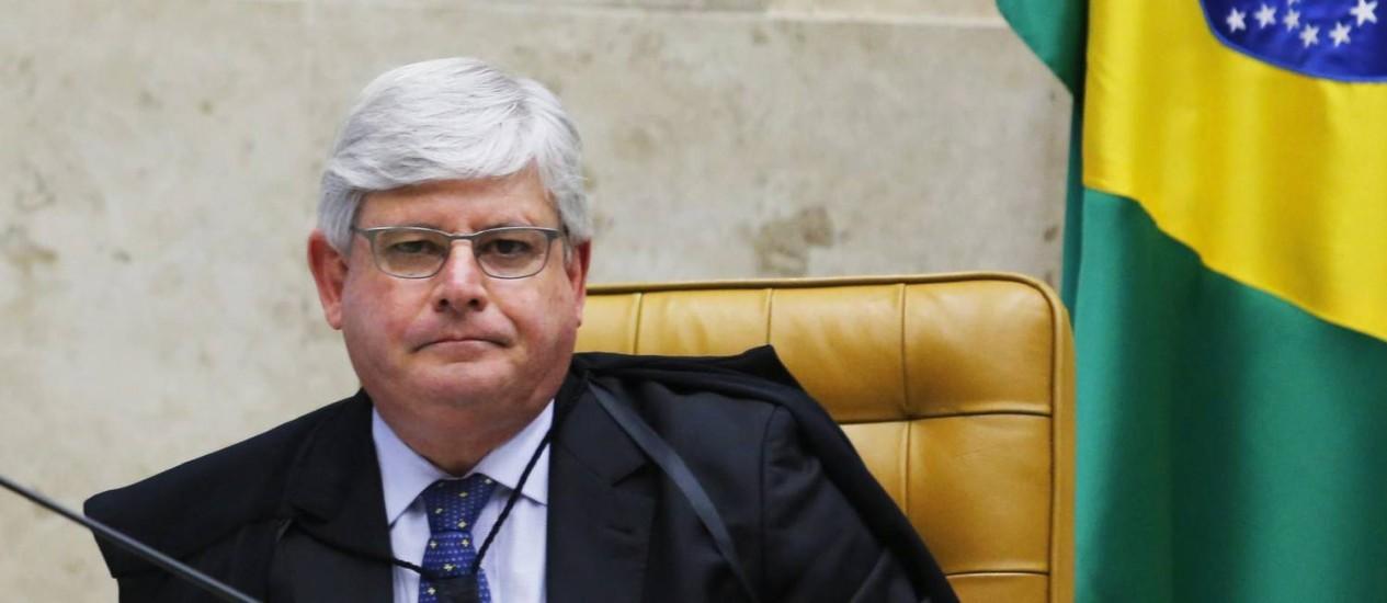 Janot mostra interesse em permanecer como Procurador-Geral da República Foto: Agência O Globo / Jorge William/11-03-2015