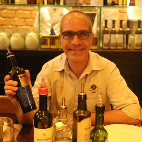 Marcelo Scofano, no Mamma Jamma, onde assina carta de azeite Foto: Divulgação / Vanessa Moura