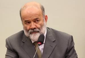 Tesoureiro do PT, João Vaccari Neto, na CPI da Petrobras Foto: Ailton de Freitas / Agência O Globo