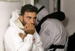 Mohammed Ali Malek foi identificado como o comandante do barco que naufragou perto da costa da Líbia, mantando cerca de 800 pessoas Foto: Alessandra Tarantino / AP
