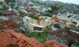 Tornado destruiu casas no oeste de Santa Catarina