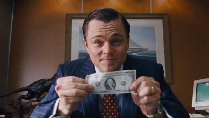 """DiCaprio encarnou Jordan Belfort em """"O Lobo de Wall Street"""" Foto: AP"""