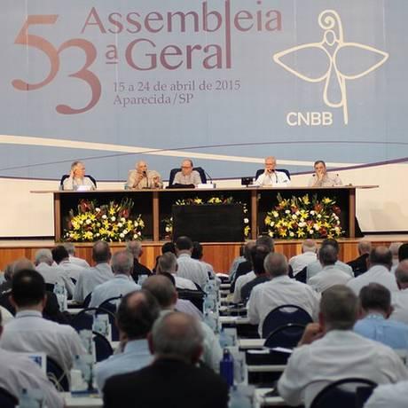 Bispos participam da 53ª Assembleia Geral da CNBB Foto: Divulgação/CNBB