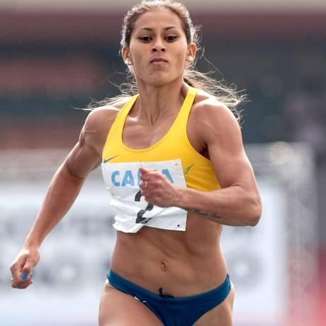 Mulher mais veloz da América do Sul: Ana Cláudia Lemos Silva Foto: Marcelo Ferrelli/Divulgação CBAt / Marcelo Ferrelli/Divulgação CBAt