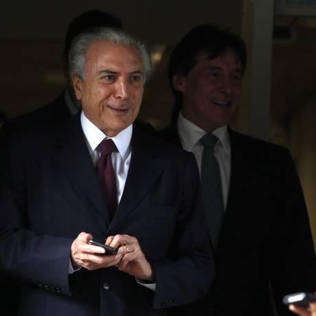 Michel Temer, vice-presidente do Brasil Foto: Jorge William / Arquivo O Globo