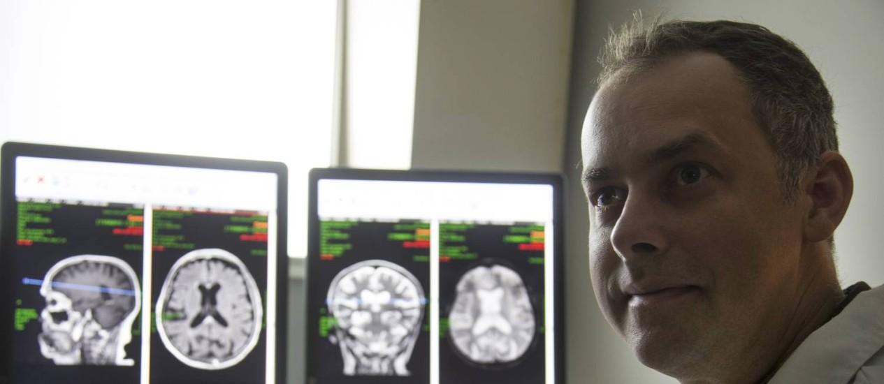 Mark Griswold, físico e professor Foto: Antonio Scorza / Agência O Globo