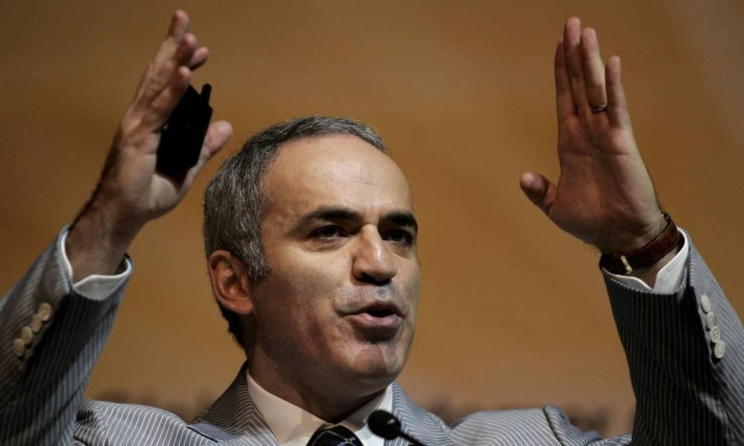 Garry Kasparov nasceu na capital azeri, Baku, filho de um judeu russo e uma armênia descendente da diáspora. Aos 12 anos, adotou o sobrenome da mãe, Gasparian, adaptando para o russo Foto: Reuters