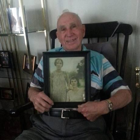 Emoção de avô encantou neta, que agora está à busca de foto do seu bisavô Foto: Reprodução/Arquivo Pessoal