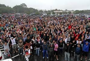 Assembleia que aprovou greve na Mercedes-Benz aconteceu nesta quarta-feira Foto: Adonis Guerra / Reprodução/Sindicato Metalúrgicos