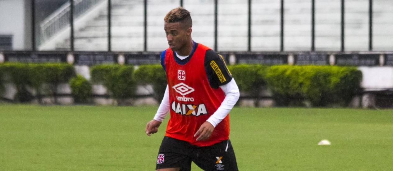 Rafael Silva evolui em campo na fase decisiva do Carioca Foto: Paulo Fernandes/Divulgação / Paulo Fernandes/Divulgação
