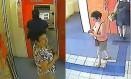 A gravação com a mulher depositando dinheiro na conta Giselda Rousie de Lima, mulher de Vaccari Foto: Reprodução