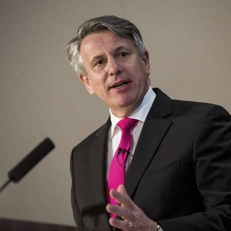O presidente mundial da Shell Ben Van Beurden Foto: David Levenson / Bloomberg