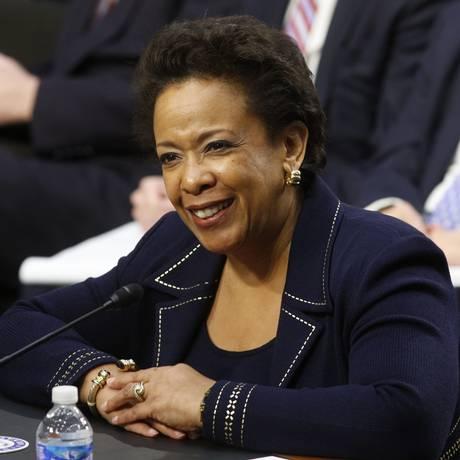 Loretta Lynch é a nova chefe da Justiça americana Foto: KEVIN LAMARQUE / REUTERS