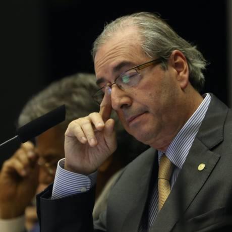 O presidente da Câmara, Eduardo Cunha (PMDB-RJ) Foto: André Coelho/22-4-2015