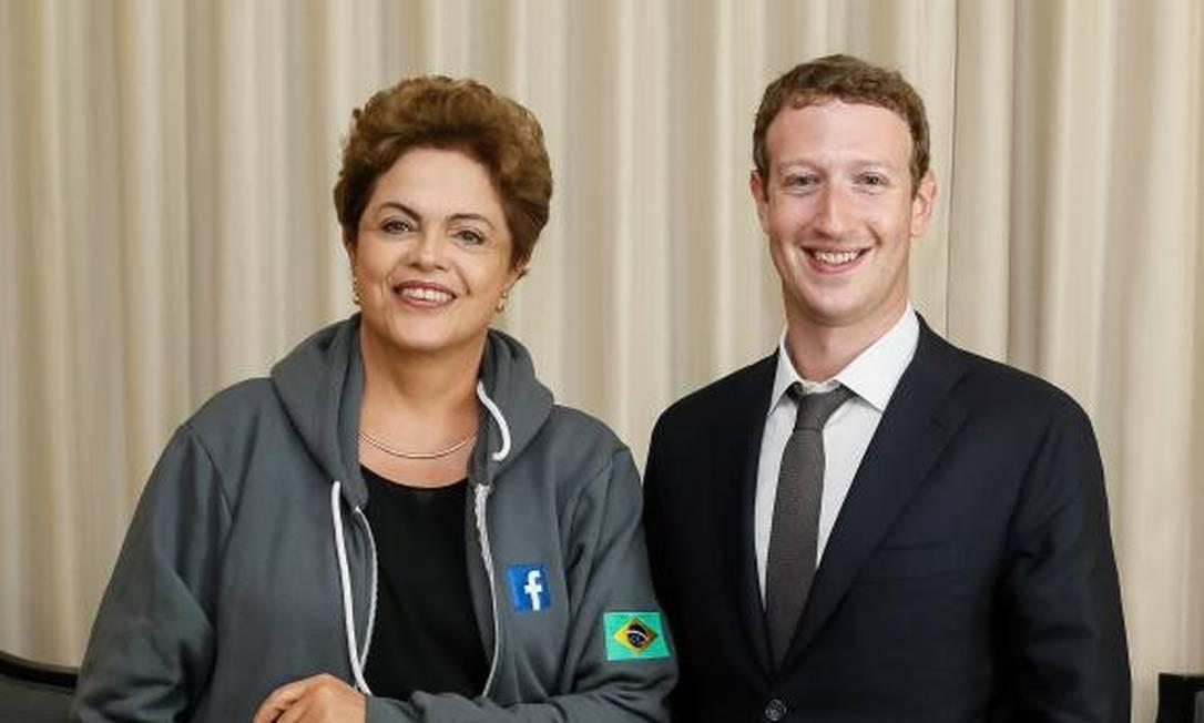 Entidades entregam carta a Dilma com críticas a eventual acordo com Facebook