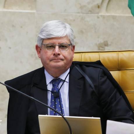 O Procurador Geral da República, Rodrigo Janot Foto: Jorge William / Arquivo O Globo 11/03/2015