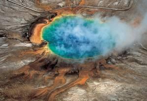 Parque Nacional de Yellowstone nos EUA Foto: HANDOUT / REUTERS