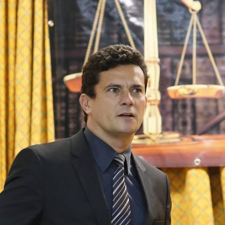 O juiz Sérgio Moro Foto: Marcos Tristão/4-12-2014