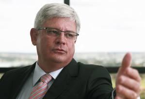 Procurador-geral da República, Rodrigo Janot Foto: Jorge William / Agência O Globo