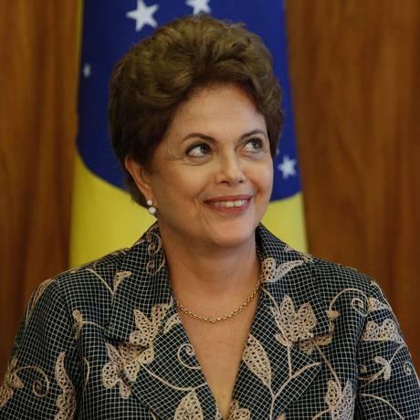 A Presidente Dilma Rousseff Foto: ANDRE COELHO/Agencia O Globo / Agência O Globo