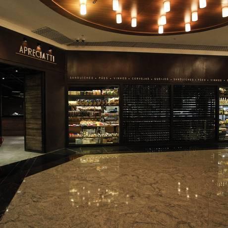 O restaurante Apreciatti é uma das novidades do Américas Shopping Foto: Guilherme Leporace / Agência O Globo
